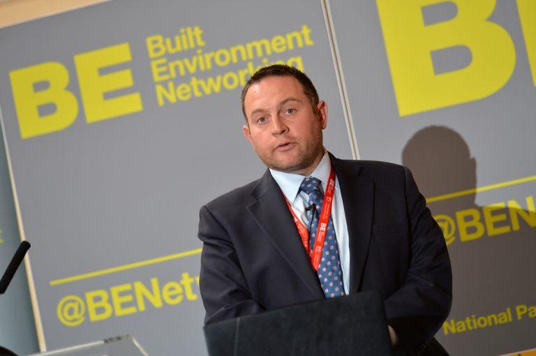 Scott Hammond of Eutopia Homes at West of England Development Conference, Bristol.08.10.19