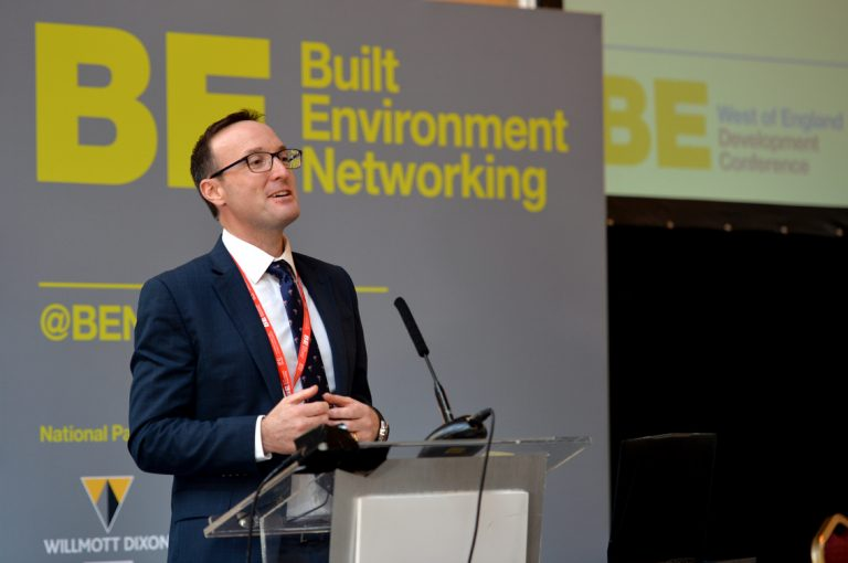 Colin Danks of PBA, now part of StantecWest of England Development Conference, Bristol.08.10.19
