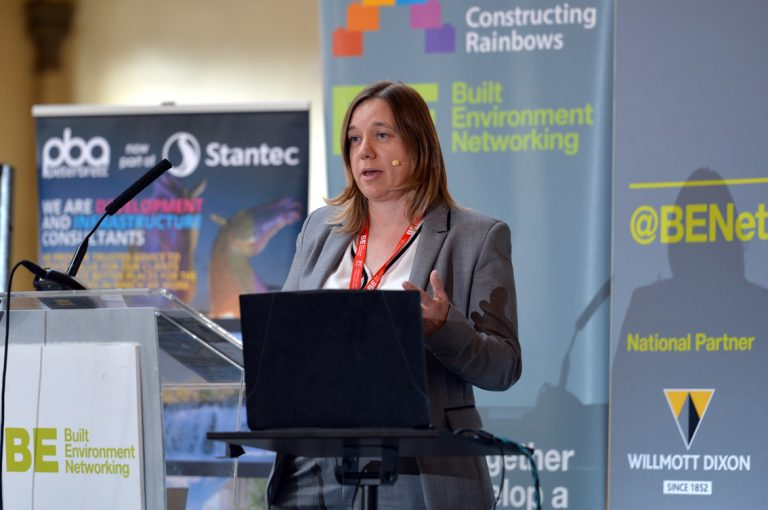 Lesley Metcalf of the Sovereign Housing Association West of England Development Conference, Bristol.08.10.19