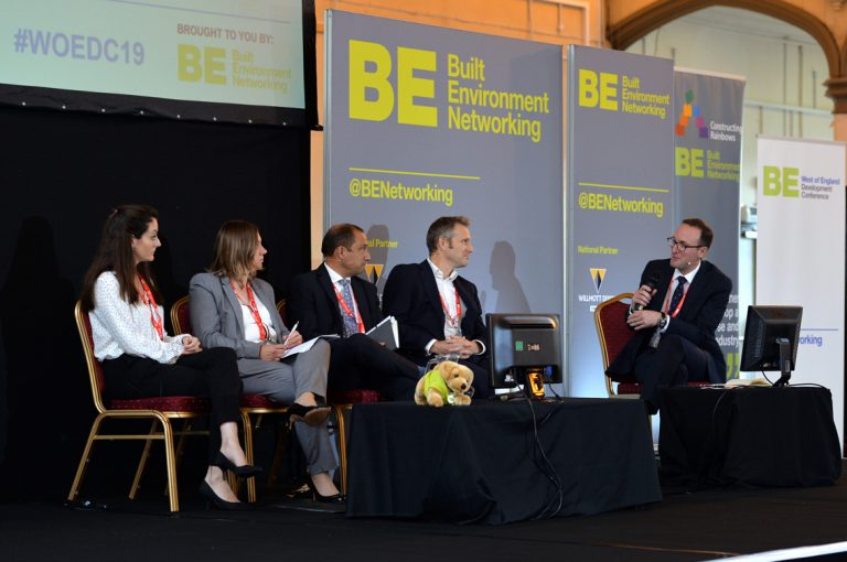 Colin Danks, Julia Bevan, Victor Da Cunha, Lesley Metcalf, Peter White and Jeremy Sweetland West of England Development Conference, Bristol.08.10.19