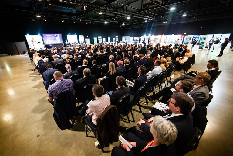 Wide shot of the crowd at West Yorkshire Economic Growth Conference 2018