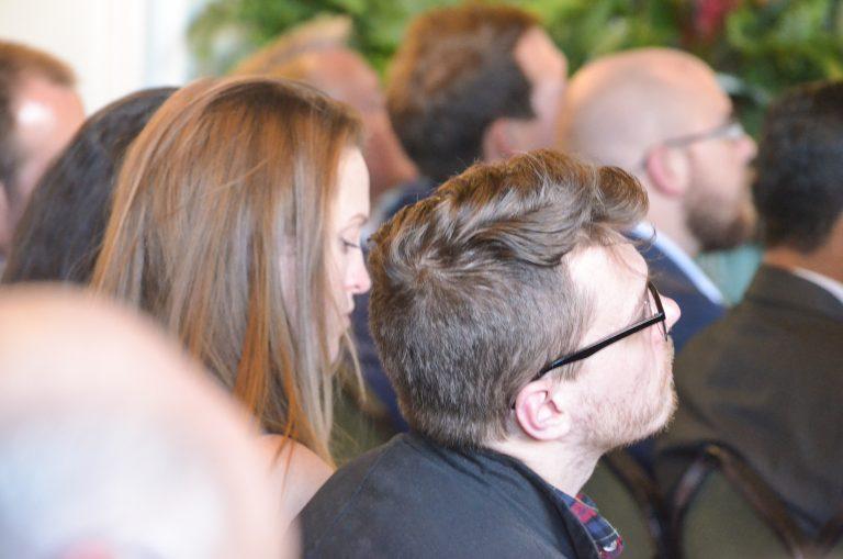 Attendee's watch the speakers at Birmingham Development Plans 2018