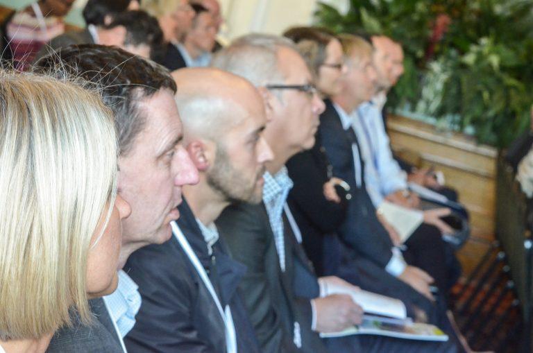 Attendees watch the speakers at Birmingham Development Plans 2018