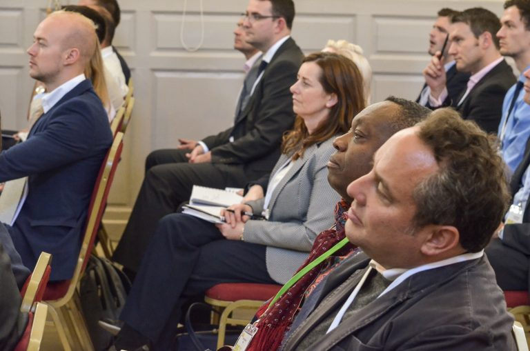 Attendee's watch the speakers at Dublin Development Plans 2018