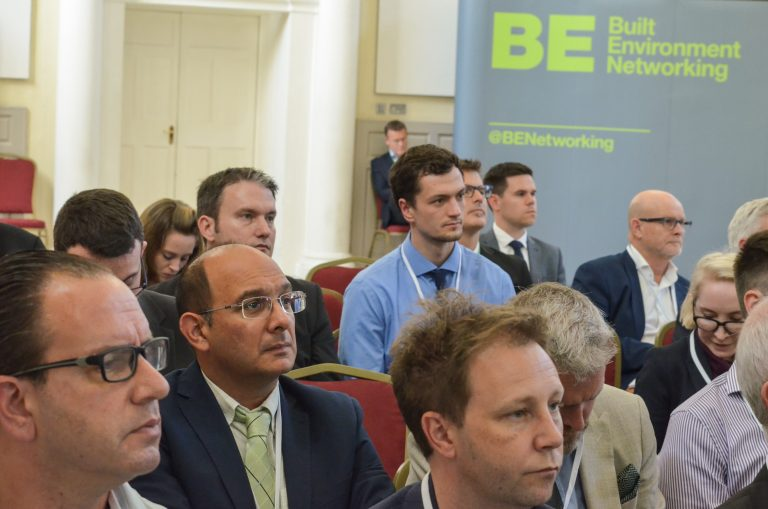 Built Environment Networking Crowd at Dublin Development Plans 2018