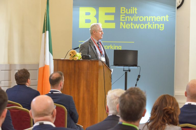 Clive Natrass Speaking Dublin Development Plans 2018