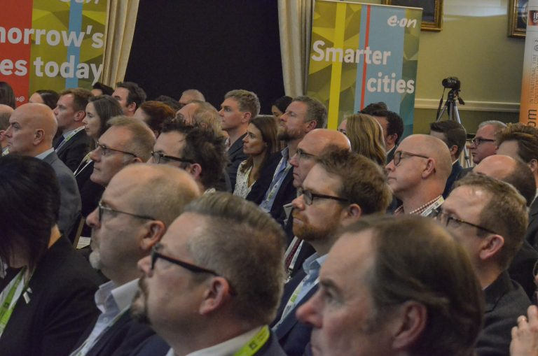 Crowd watching the Speakers at Norwich & East Anglia Development Plans