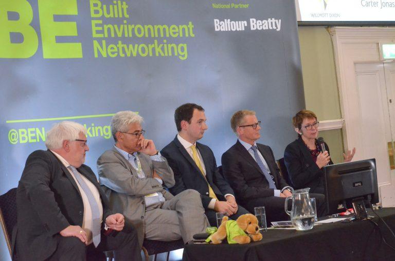 David Parfrey, Roger Bond, Dr Wendy Thompson, Hugh French and Edward Olley