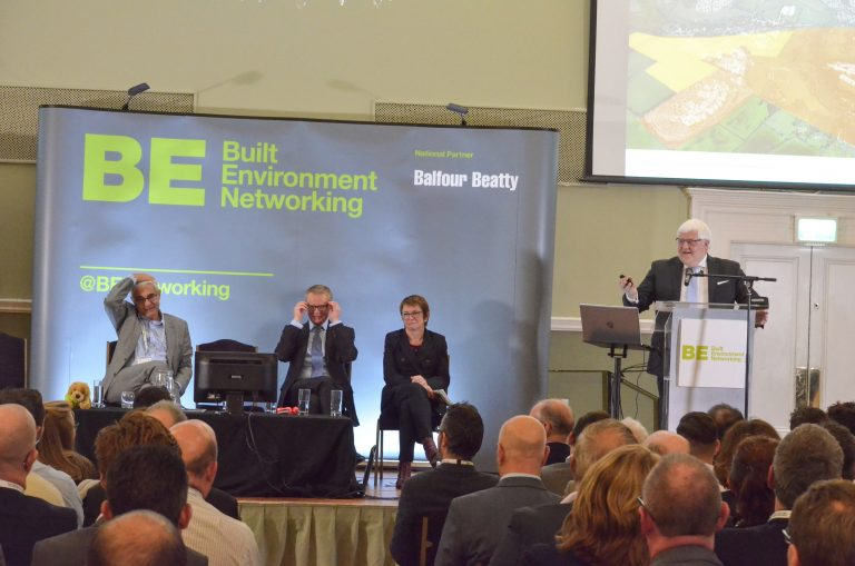 David Parfrey of Norwich Research Park speaks at Norwich & East Anglia Development Plans