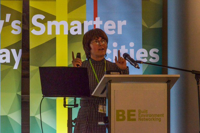 Dawn Baxendale of Birmingham City Council speaks at Birmingham Development Plans 2018