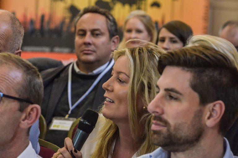Dublin Development Plans 2018 An Attendee asks the panel a question