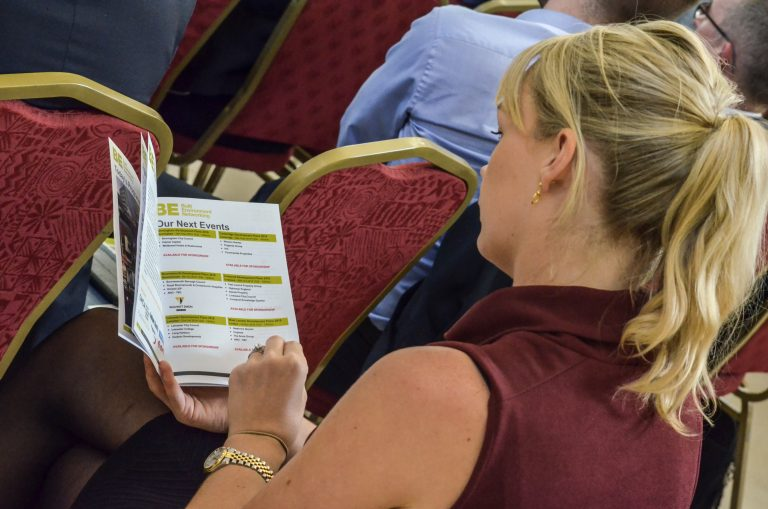 Dublin Development Plans 2018 Attendee checks out the programme