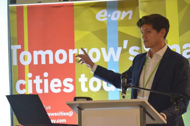 Matt Chandler of Godwin Developments speaks at Birmingham Development Plans 2018