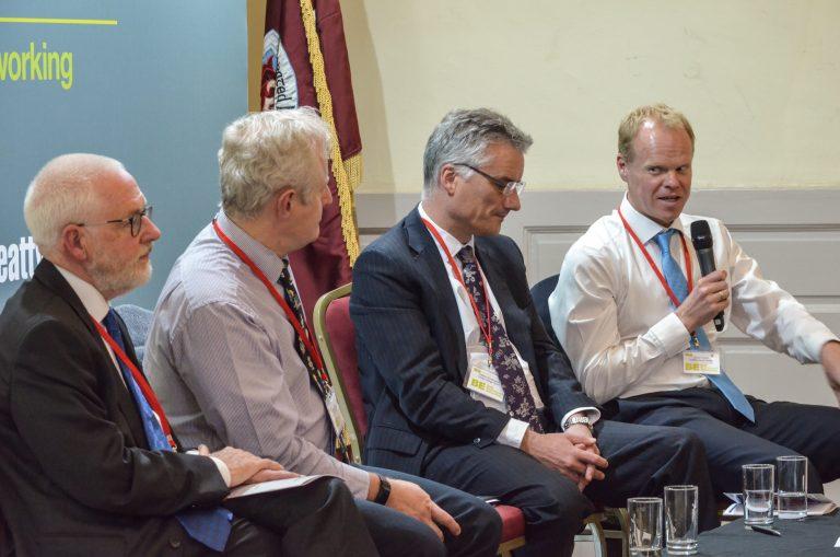 Michael Monaghan, Clive Natrass, Patrick Prendergast and Lorcan Tyrell Speak at Dublin Development Plans 2018