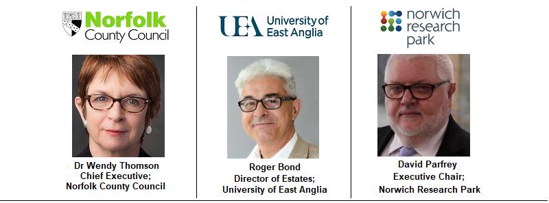 UEA East Anglia University Norwich Norfolk Council Investors Land Development Regeneration Research Park