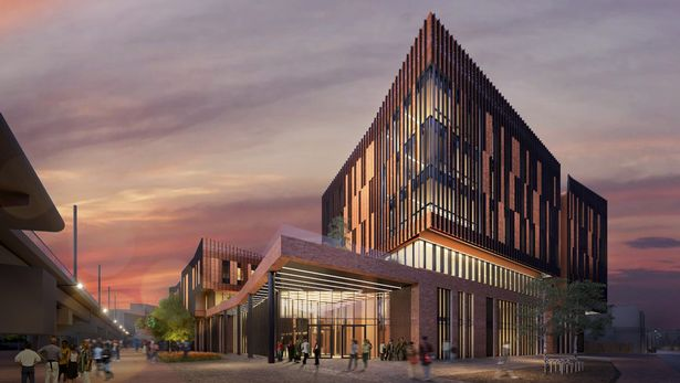 Nottinghams 58m skills hub set for broadmarsh the proposed nottingham college city hub which is set to be built on the broadmarsh site in nottingham is set to be a landmark addition to nottinghams malvernweather Gallery