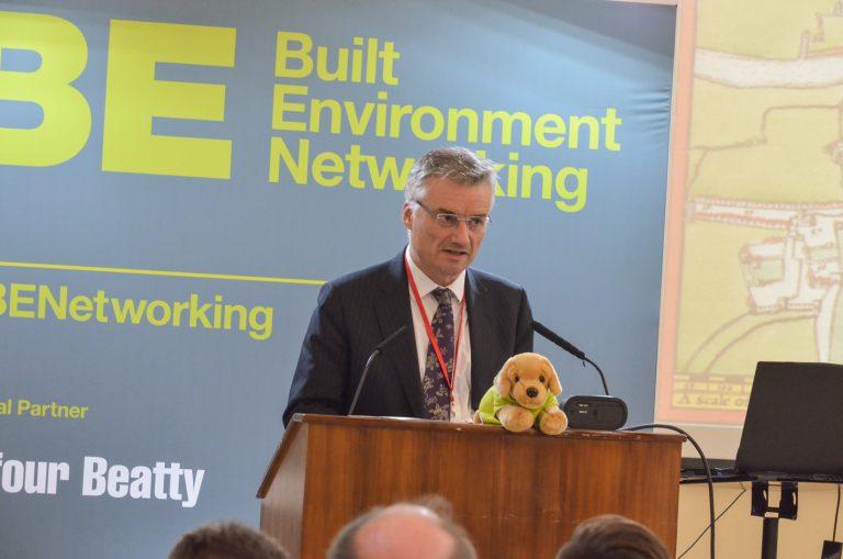 Patrick Prendergast Trinity College Dublin speaks at Dublin Development Plans 2018