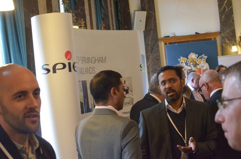 SPIE Partnered Networking event Birmingham Development Plans 2018