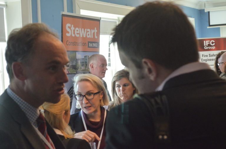 Stewart Construction Networking Event in Dublin