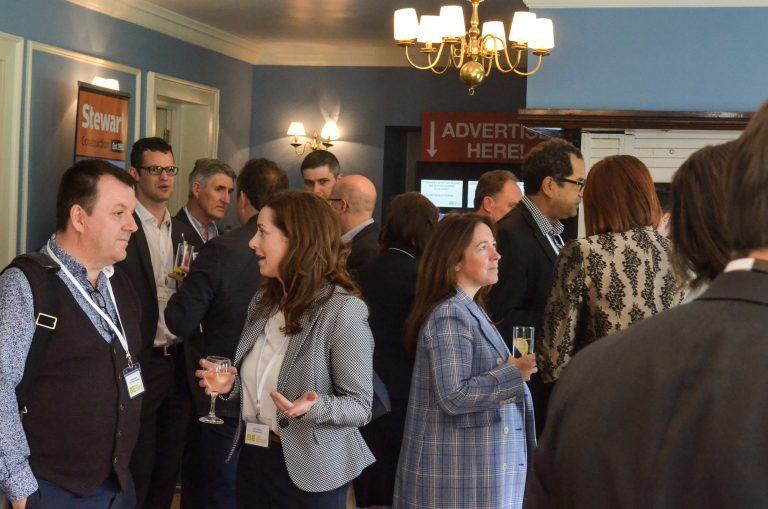 Stewart Construction Partnered Networking event