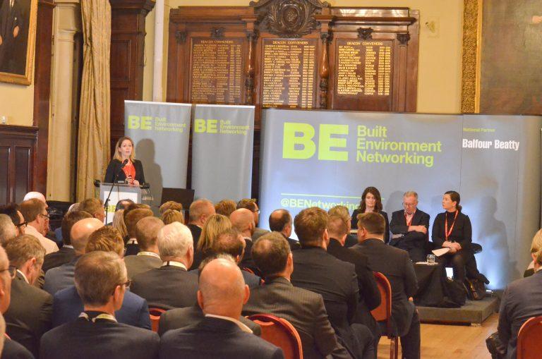 Kal Feldinger and the Panel at Glasgow Development Plans 2019