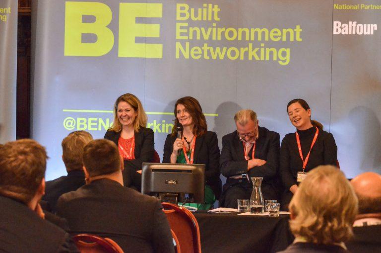 Kat Feldinger, Carol Connolly , Murray Collins and Angeline Robertson Glasgow Development Plans 2019