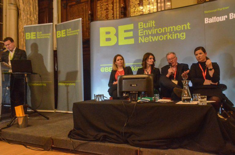 Phil Laycock, Kat Feldinger, Carol Connolly , Murray Collins and Angeline Robertson Glasgow Development Plans 2019