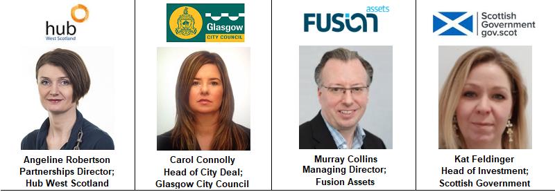 Speaker Glasgow Fusion Assets Murray Collins Kat Feldinger Government Scotland Glasgow Council
