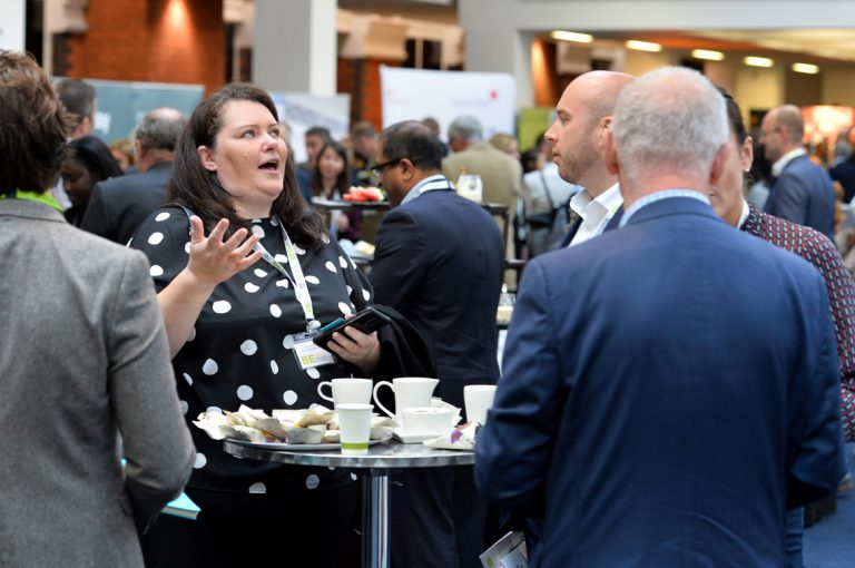 Attendees-discuss-business-at-Greater-Manchester-Development-Conference-2019