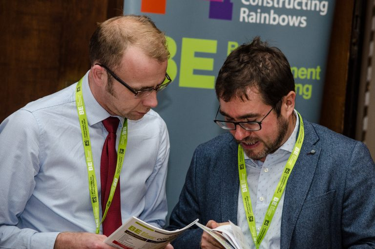 Constructing Rainbows Partnered networking event Manchester Development Plans 2019