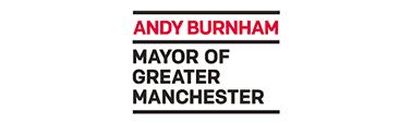 GMCA Mayor Andy Burnham Manchester Logo 378 x 113 Sidebar