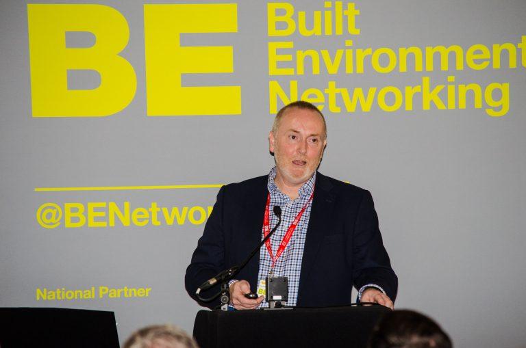 John Searle Rochdale Development Agency speaks at the conference
