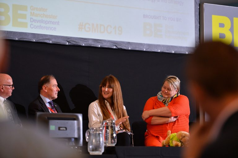 Luke-Georghiou-Lou-Cordwell-and-Nicola-Headlam-Greater-Manchester-Development-Conference-2019