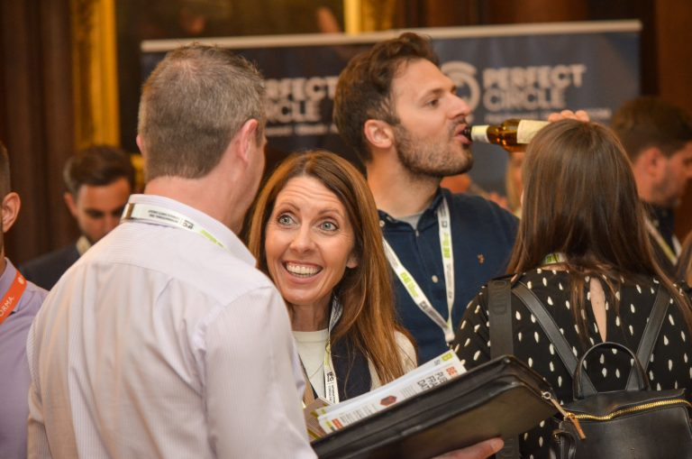 Networking event at Manchester Hall for the Construction Industry 2019