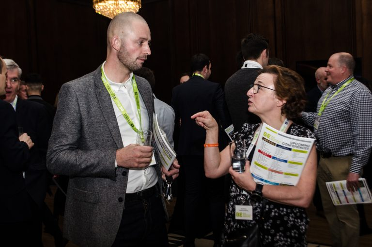 Networking in Manchester Hall forManchester Development Plans 2019