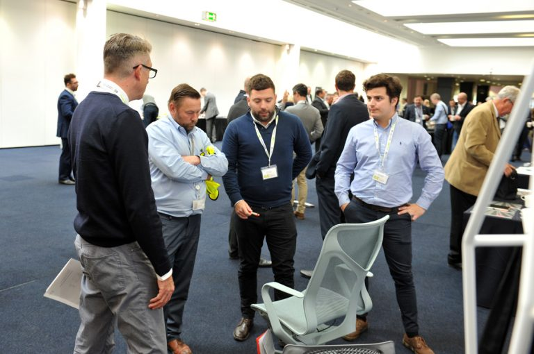 Networking-in-the-Manchester-Central-Greater-Manchester-Development-Conference-2019