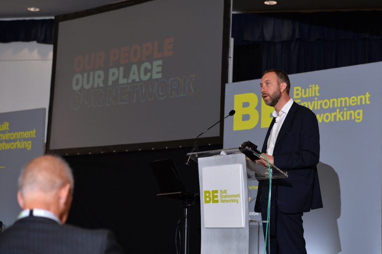 Paul-Warburton-of-Transport-for-Greater-Manchester-Greater-Manchester-Development-Conference-2019