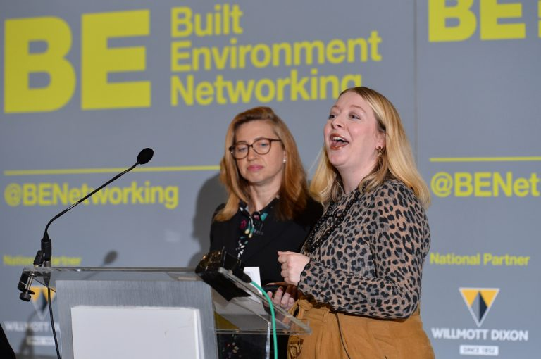 Pauline-Johnston-and-Rosslyn-Colderly-speaking-at-Greater-Manchester-Development-Conference-2019
