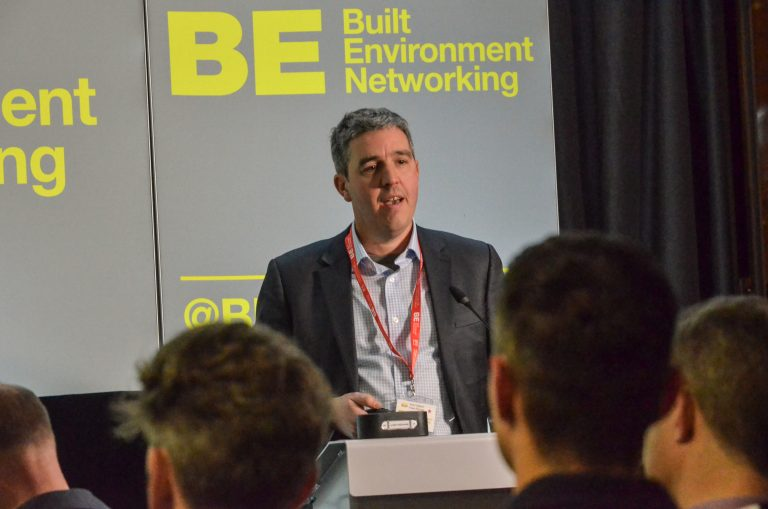 Rich Osborn of Fresh-Range speaking at Manchester Development Plans 2018
