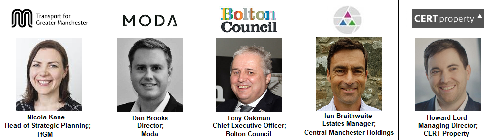 Speakers Tony Oakman Bolton Council MODA Living Westbrook