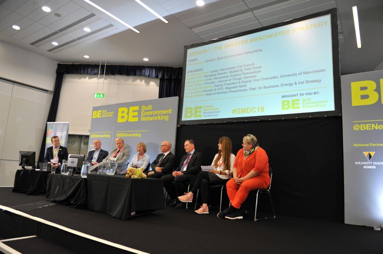 The-Greater-Manchester-Strategy-Panel-at-Greater-Manchester-Development-Conference-2019