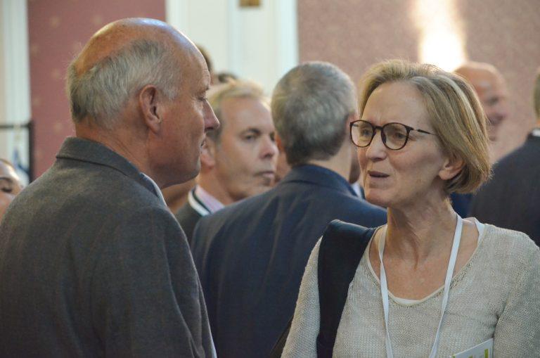 Attendees discuss at Cambridge Development Plans 2018