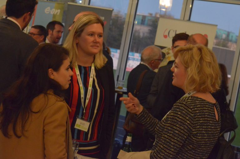 Attendee's discuss the day Essex & South East Development Plans