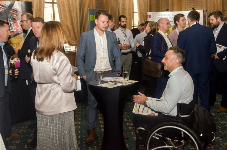 Attendee's discuss the day at Leeds City Region Development Plans 2019