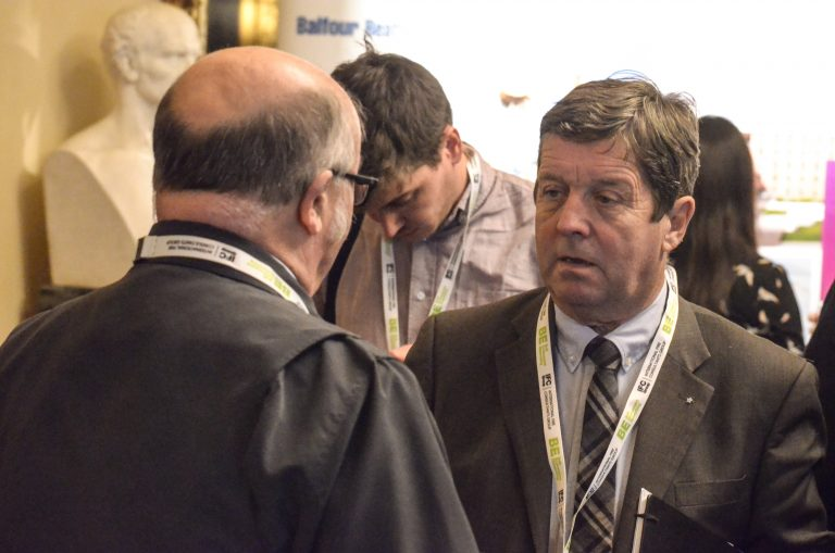 Attendee's of Liverpool Development Plans 2018 Speak after the Presentations