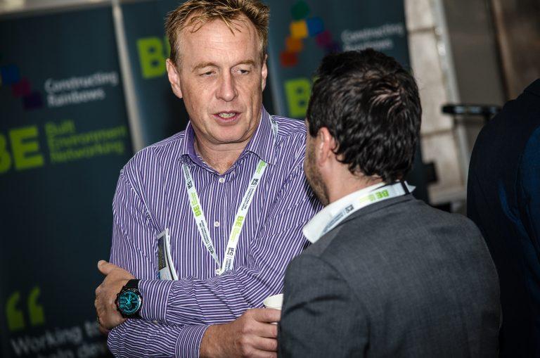 Attendee's speak business at Bournemouth Development Plans 2019