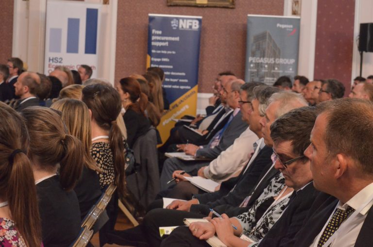 Attendee's watch the speakers at Cambridge Development Plans 2018