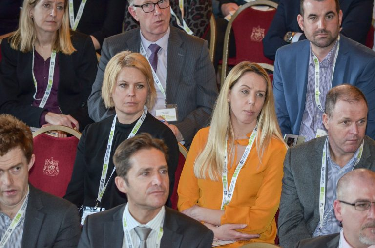 Attendee's watch the speakers at Leeds & West Yorkshire Development Plans