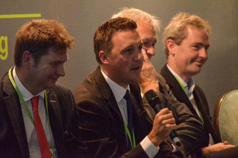 Bill Cotton, Philip Broadhead, Edwin Davies and Richard Renaut