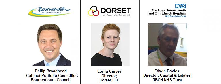 Bournemouth NHS Estates FM Facilities Management Dorset LEP Local Enterprise Partnership Lorna Carver Edwin Philip Broadhead Council Borough